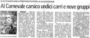Il Piccolo, 24. januar 2010