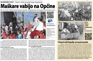 Primorski dnevnik, 9. februar 2013