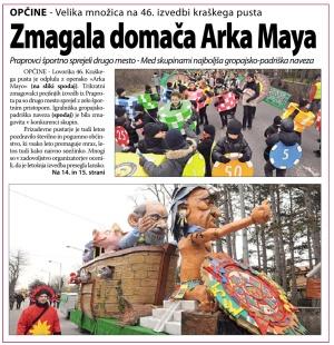 Primorski dnevnik, 10. februar 2013