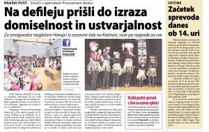 Primorski dnevnik, 14. februar 2015