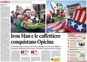 Il Piccolo, 7. februar 2016