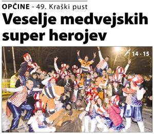 Primorski dnevnik, 7. februar 2016