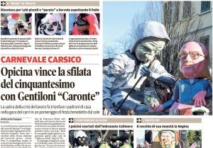 Il Piccolo, 26. februar 2017
