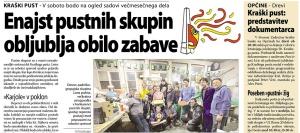 Primorski dnevnik, 22. februar 2017